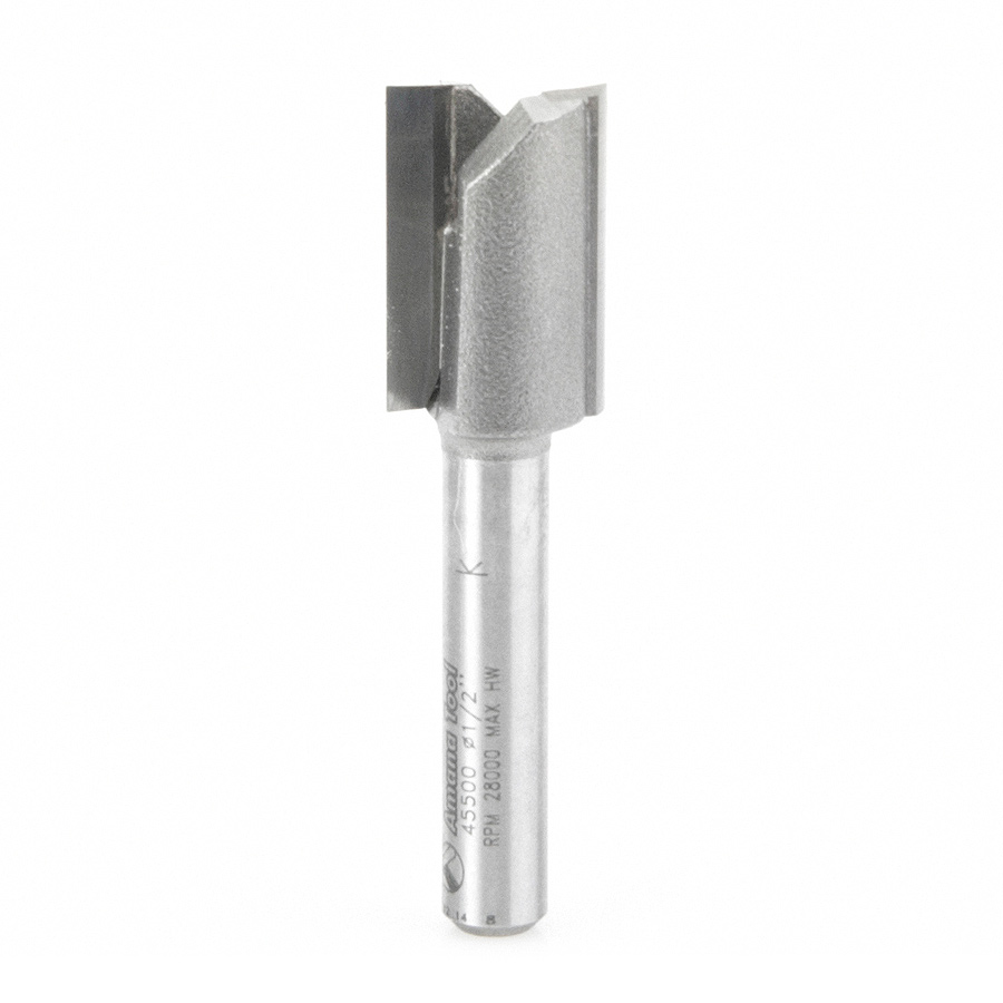 45500 Carbide Tipped Mortising 1/2 Dia x 3/4 x 1/4 Inch Shank