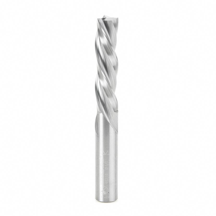 46218 Solid Carbide Spiral Plunge 1/2 Dia x 2 Inch x 1/2 Shank Down-Cut, 3-Flute