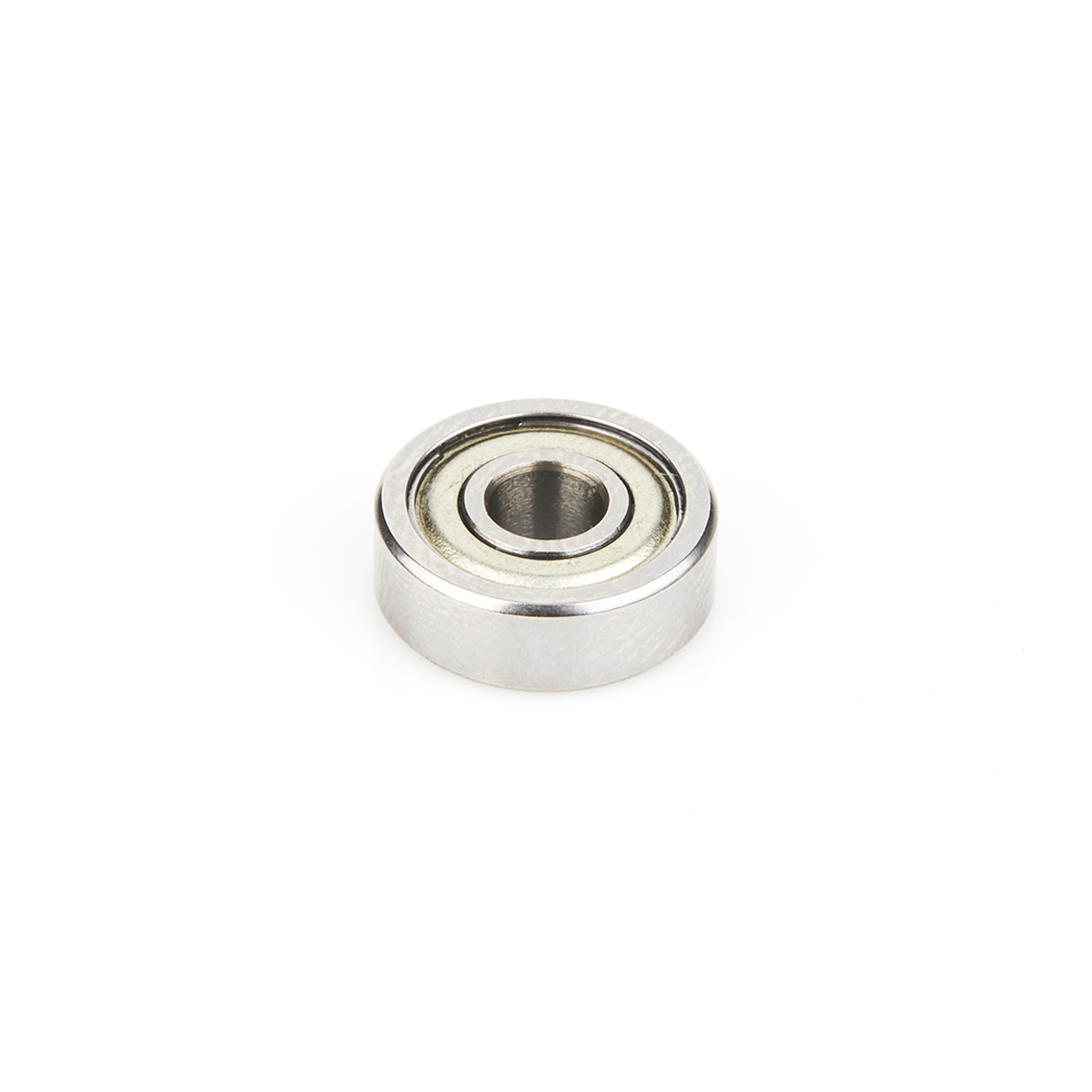 47663 Metric Steel Ball Bearing Guide 12mm Overall Dia x 4mm Inner Dia x 4mm Height