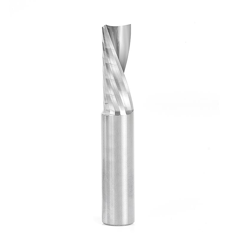 51529 Solid Carbide CNC Spiral 'O' Flute, Plastic Cutting 1/2 Dia x 1-1/4 x 1/2 Shank Down-Cut