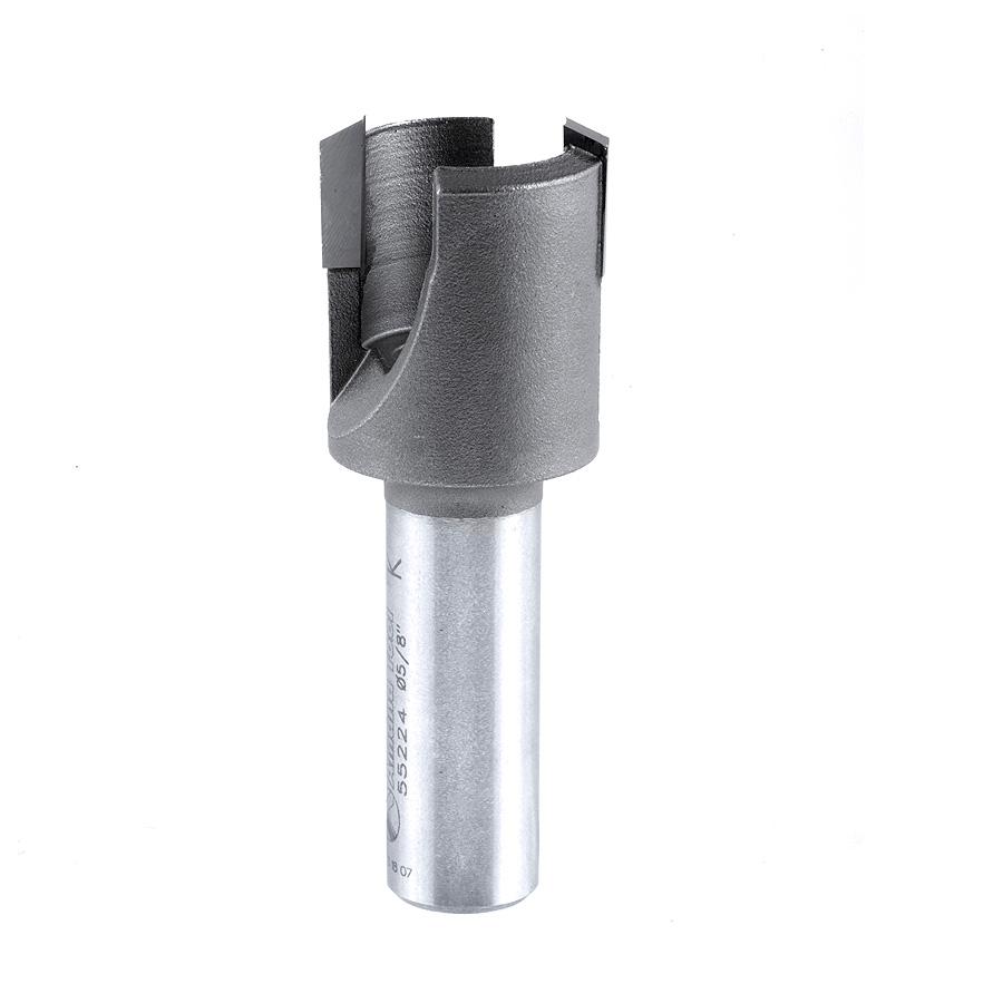 55224 Carbide Tipped Plug Cutter for Drill Press 29/32 Dia x 1/2 x 1/2 Inch Shank