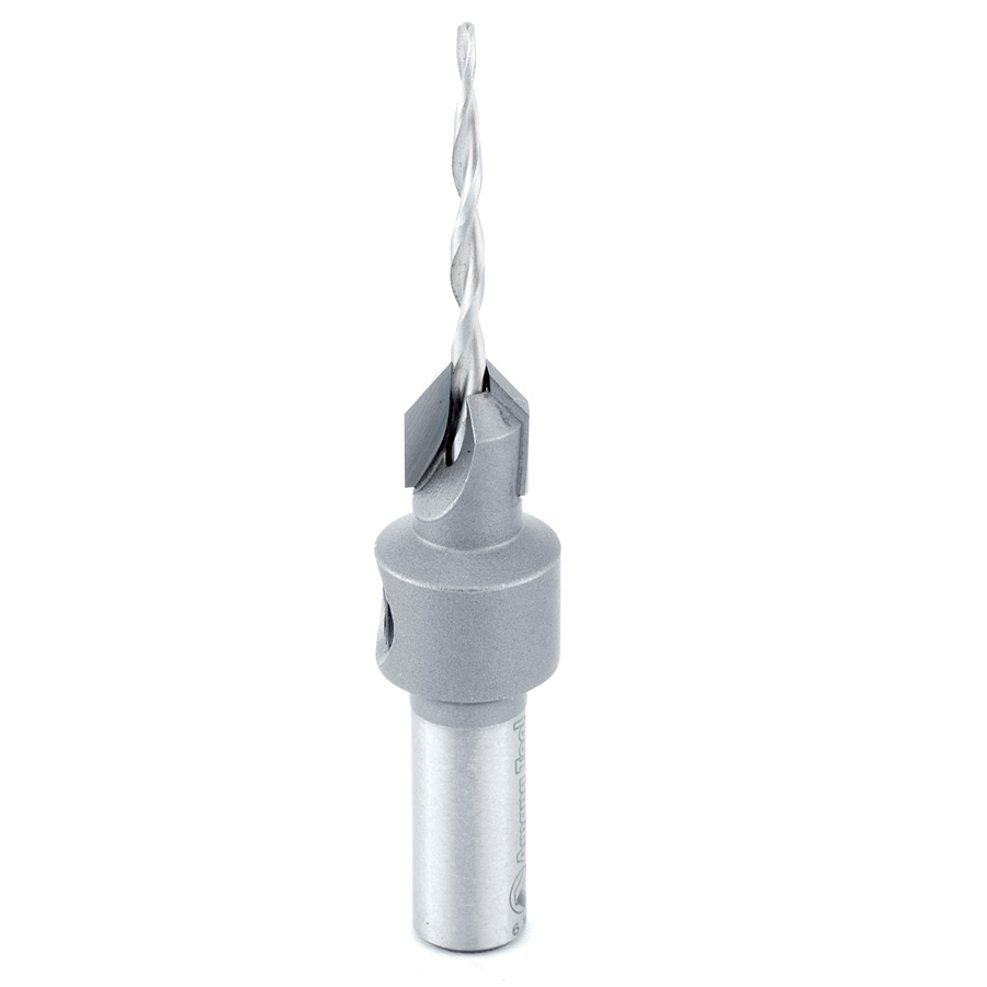 55600 Carbide Tipped 82 Degree Countersink Taper #4 Screw 11/32 Dia x 3/32 Drill Dia x 5/16 Round Shank