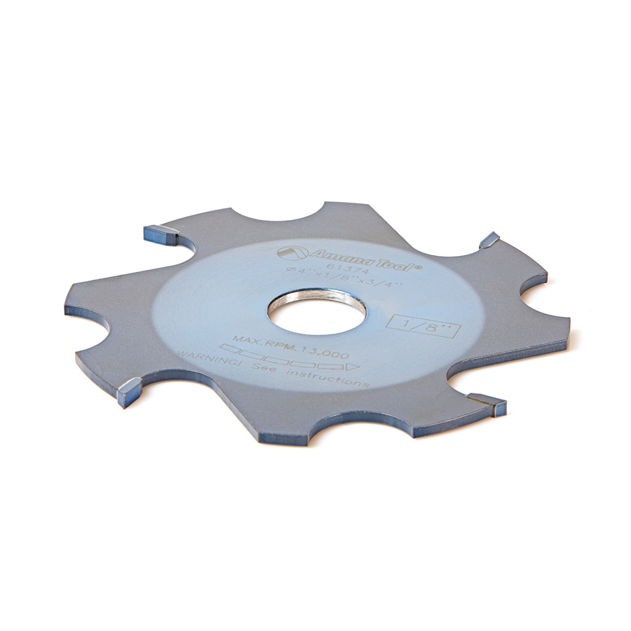 61374 Replacement Groover 4 Inch x 1/8 Kerf x 4 Teeth x 3/4 Bore for Prestige Mighty Dado Adjustable Dado/Groover