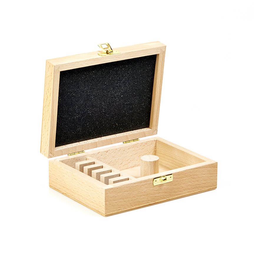 62282 Profile Pro Hardwood Storage Boxes for 6 Pairs of 40mm Knives
