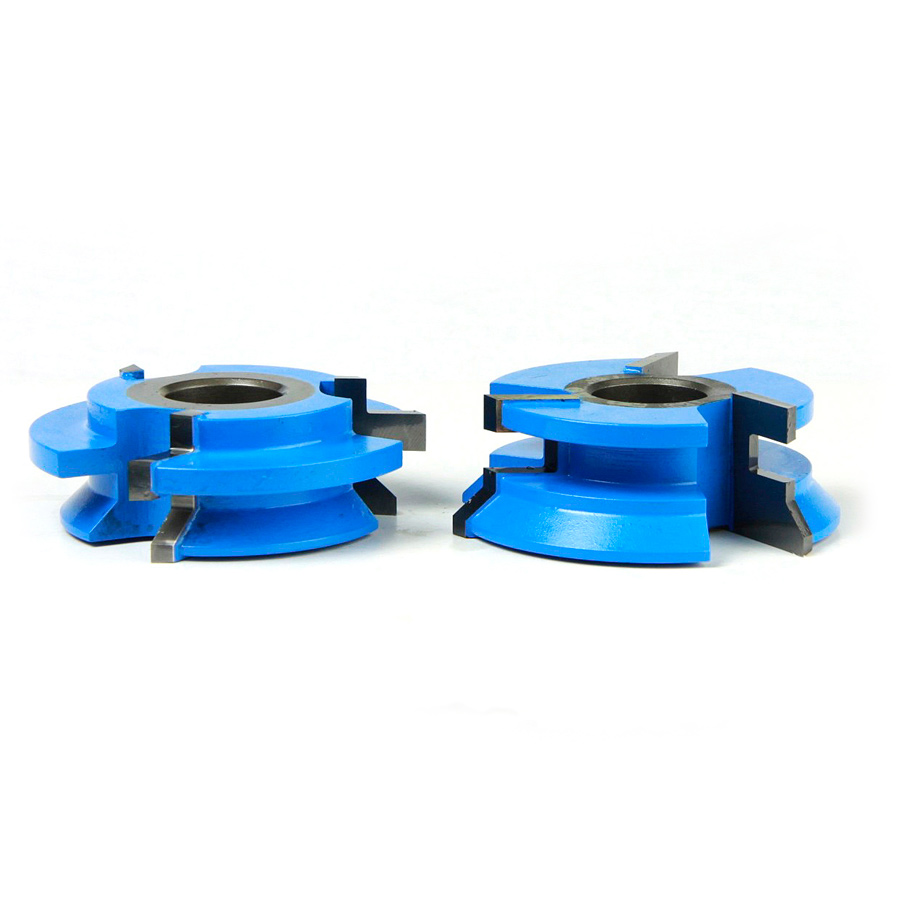 938 2-Piece Carbide Tipped 3-Wing V Paneling 2-5/8 Dia x 29/32 x 45 Deg x 1/2 & 3/4 Bore Set22333