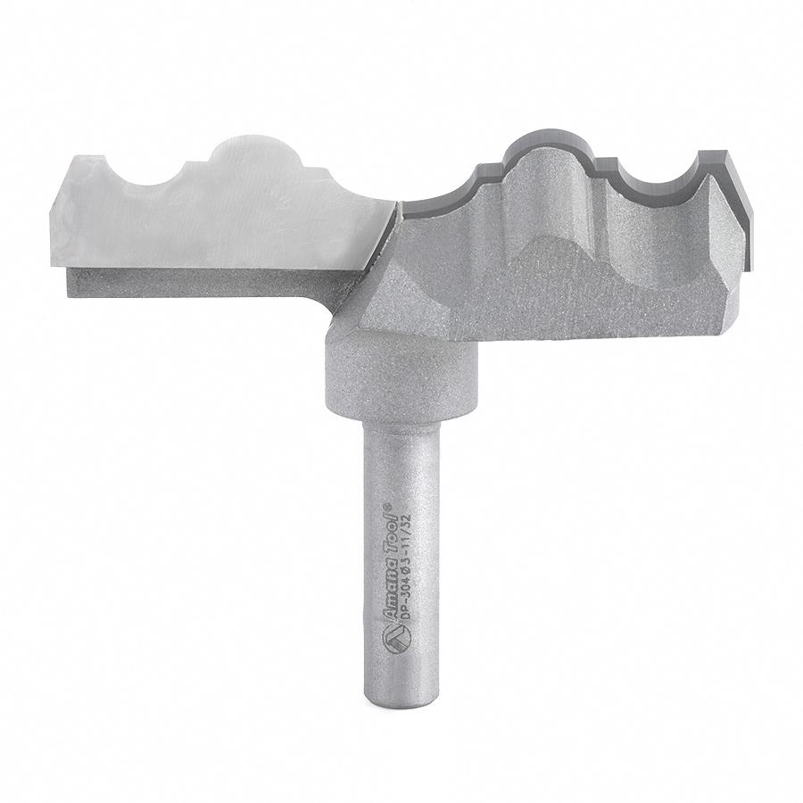 DP-304 Carbide Tipped Rosette 3-11/32 Dia x 21/64 x 3/8 Shank