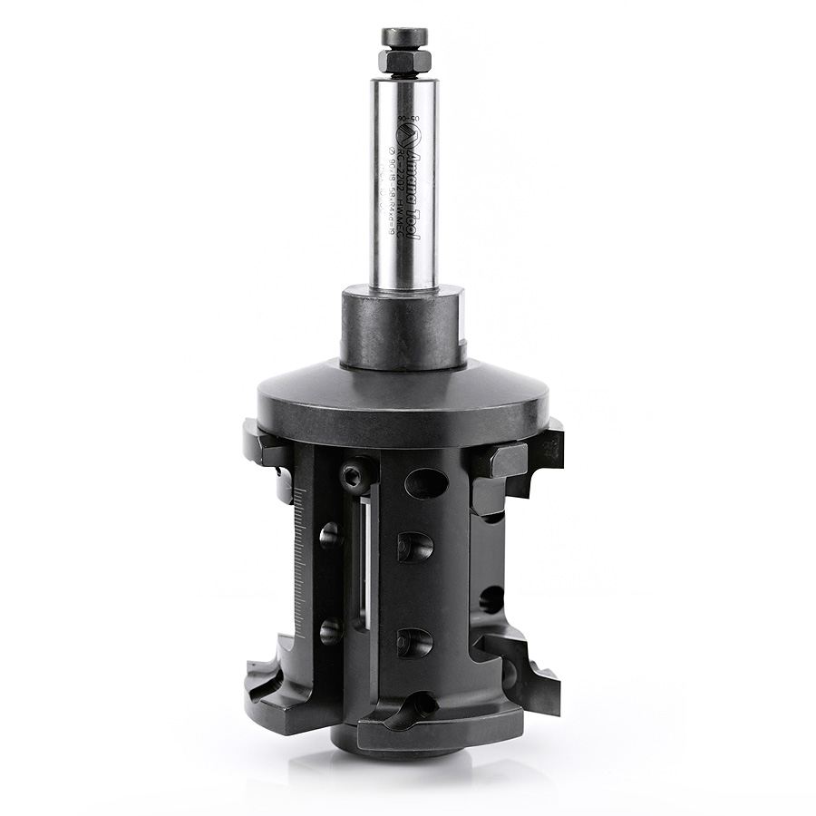 RC-2202 CNC Insert Double Rounding and Chamfering 4mm Radius x 90mm Dia x 18-58mm x 3/4 Shank