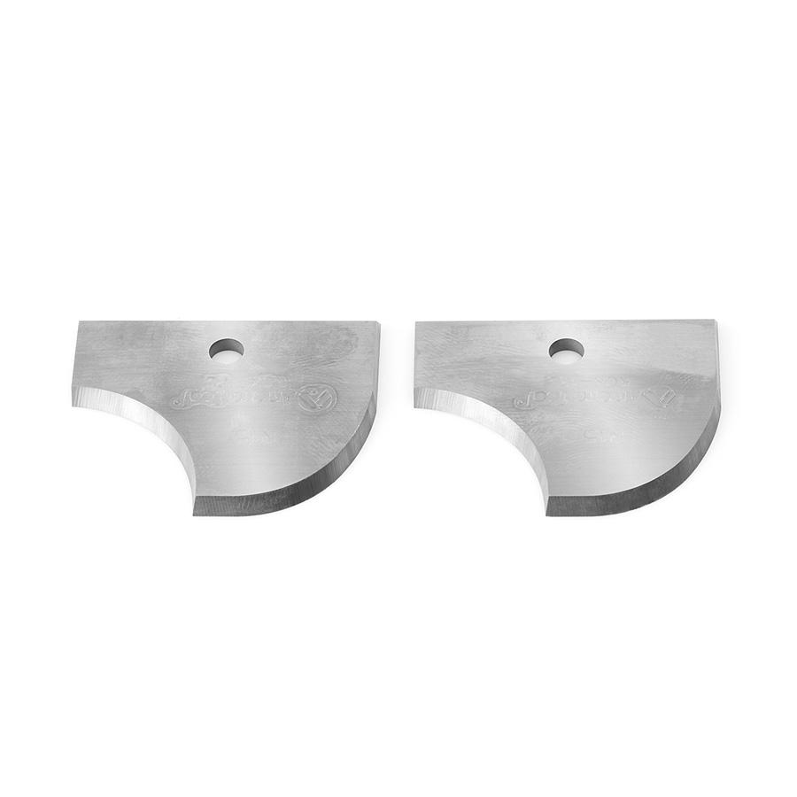 RCK-182 Pair of 12mm Radius Insert Carbide Knives for Corner Round/Cove no. 61324