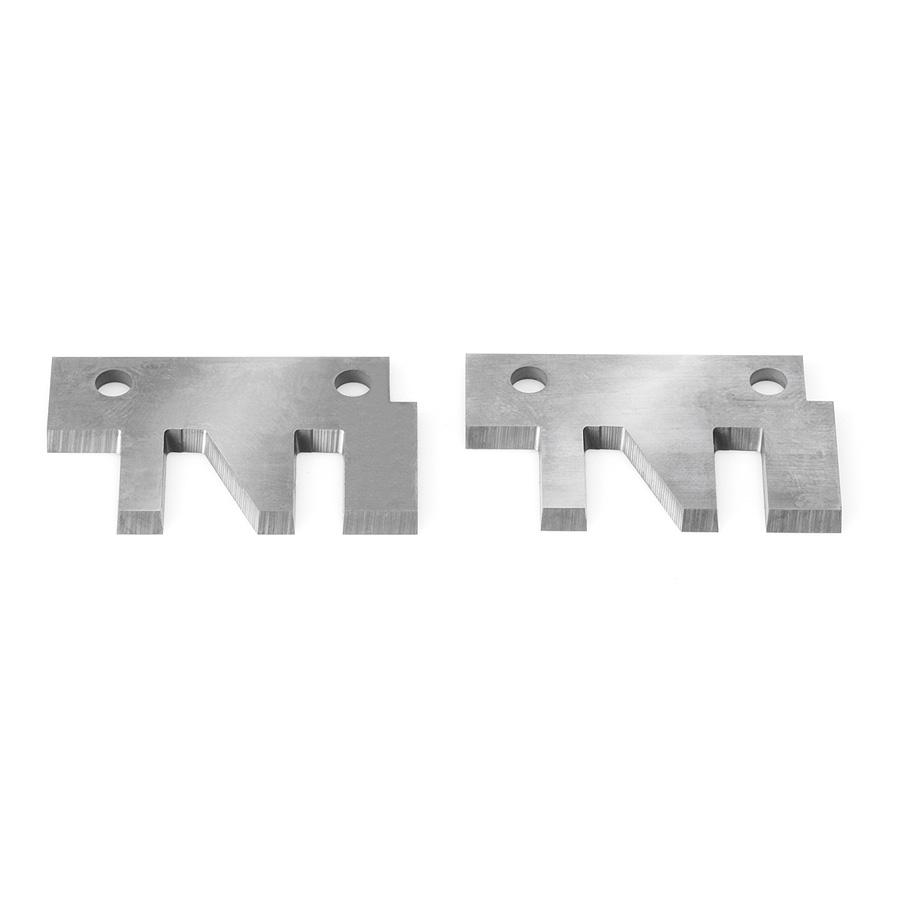 RCK-66 Pair of 40 x 26 x 2mm Insert Carbide Knives for Stile & Rail Cutterheads