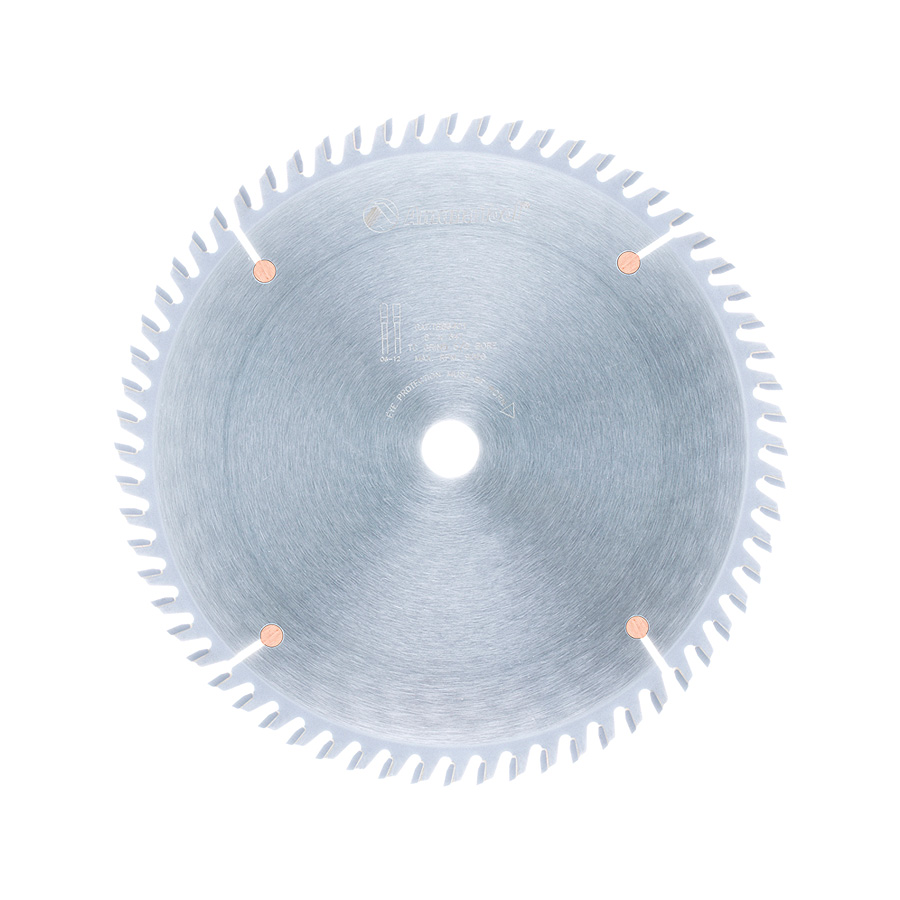 TB86401 Carbide Tipped Thin Kerf Trim 8 Inch Dia x 64T TCG, 10 Deg, 5/8 Bore