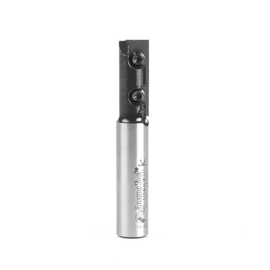RC-1154-LH Insert Carbide Straight 1-Flute x 1/2 Dia x 30mm x 1/2 Inch Shank L/H