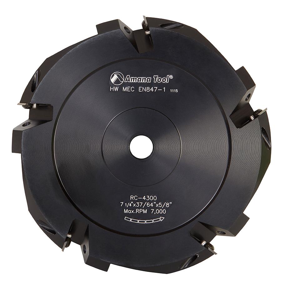 RC-4300 Insert Carbide ACM 90º Double Edge V-Scoring 7-1/4 Inch Dia x 5T x 5/8 Bore Saw Blade