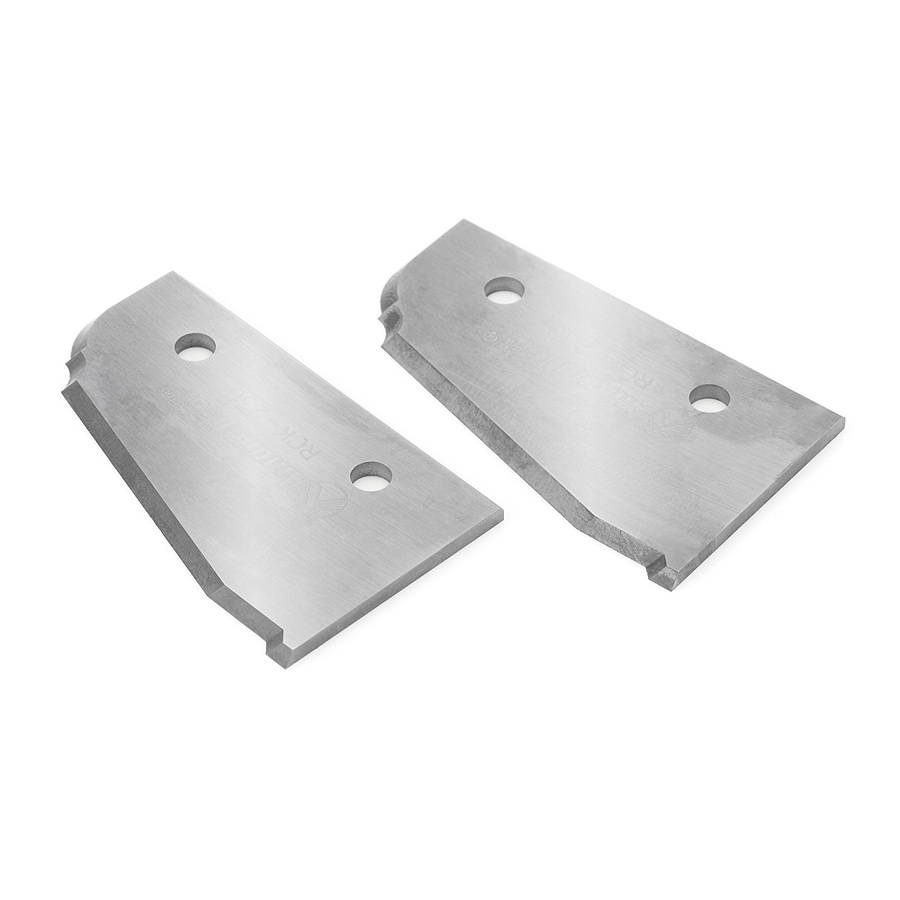 RCK-230 Solid Carbide Insert Infinity System Knife 50 x 30.5 x 2mm Profile 4 - Sold as Pair.