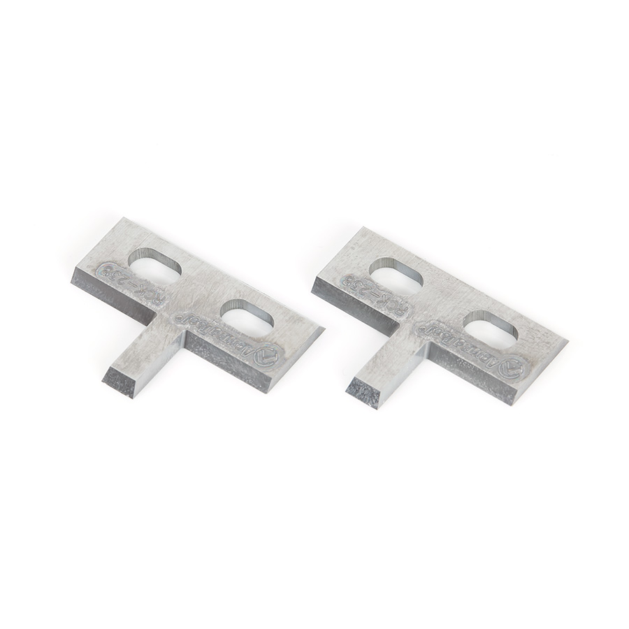 RCK-238 Pair of Insert Carbide Knives for Adjustable Tongue & Groove no. 61218