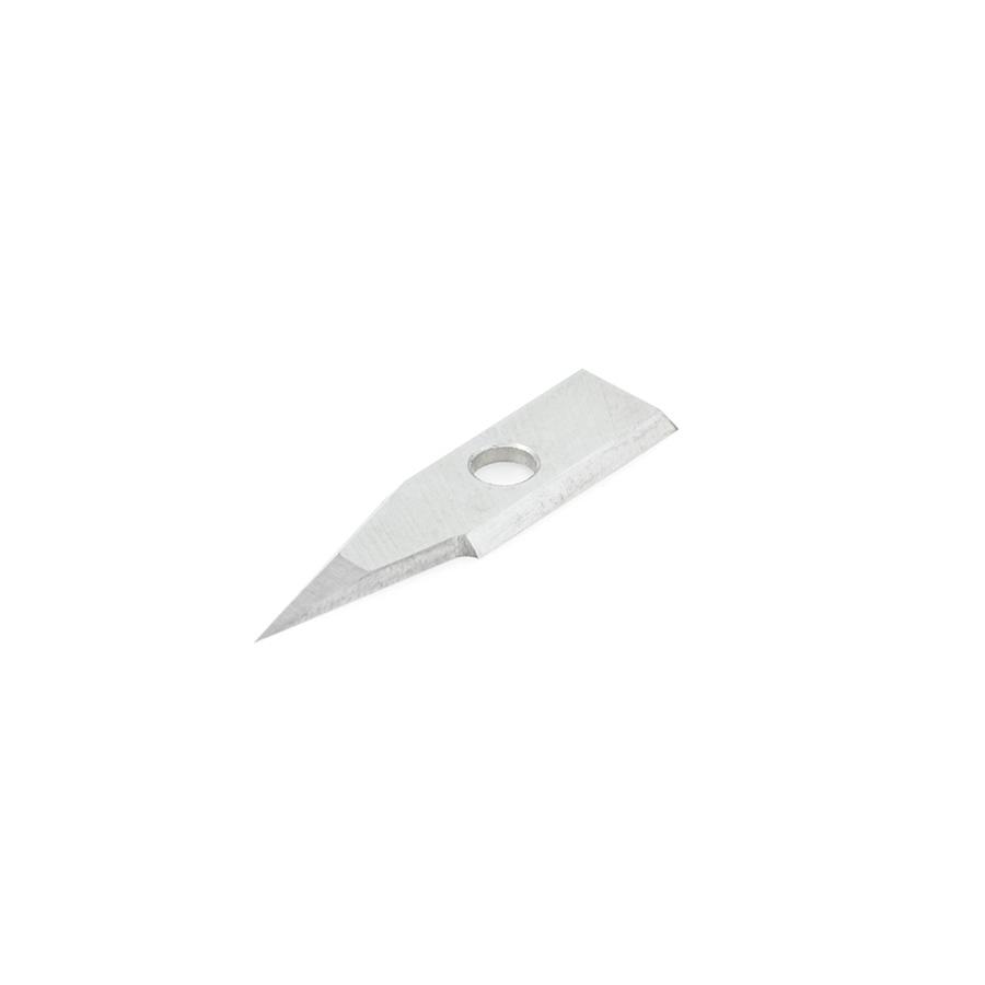 RCK-360 Solid Carbide Insert 30 Deg x 0.005 Inch V Tip Width Engraving Knife for In-Groove System