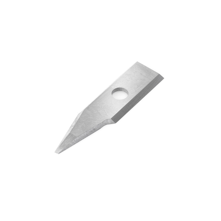 RCK-369 Solid Carbide Insert 30 Deg x 0.090 Inch V Tip Width Engraving Knife for In-Groove System