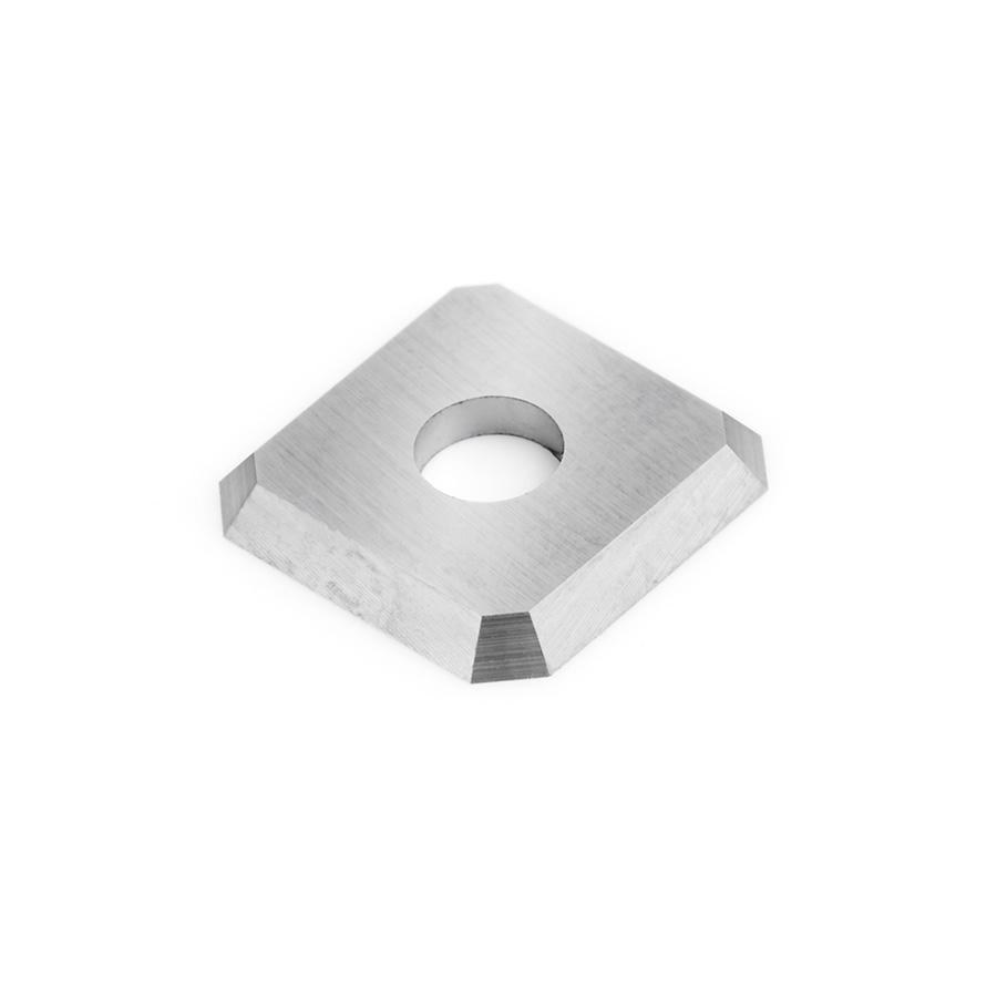 RCK-459 Solid Carbide 4 Cutting Edges Insert Knife MDF, Fiberboard 12 x 12 x 1.5mm x 45 Degree Angle