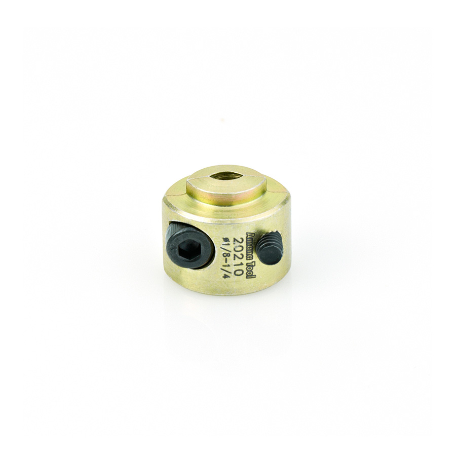20210 Adjustable 3mm to 7mm (1/8 to 1/4) Universal Drill Depth-Stop