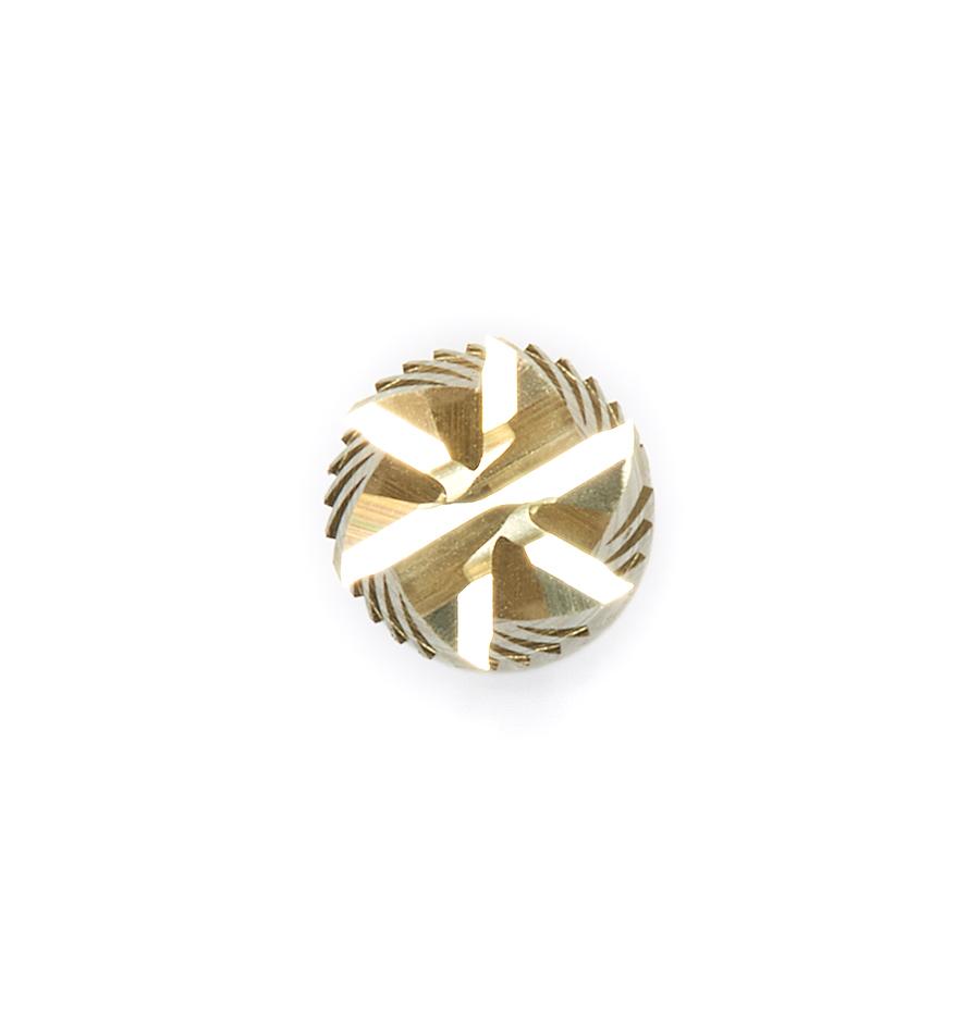 40305 CNC Solid Carbide ZrN Coated Honeycomb Cutting Hogger 1/4 Dia x 3/4 x 1/4 Shank x 4 Inch Long x 6-Flute