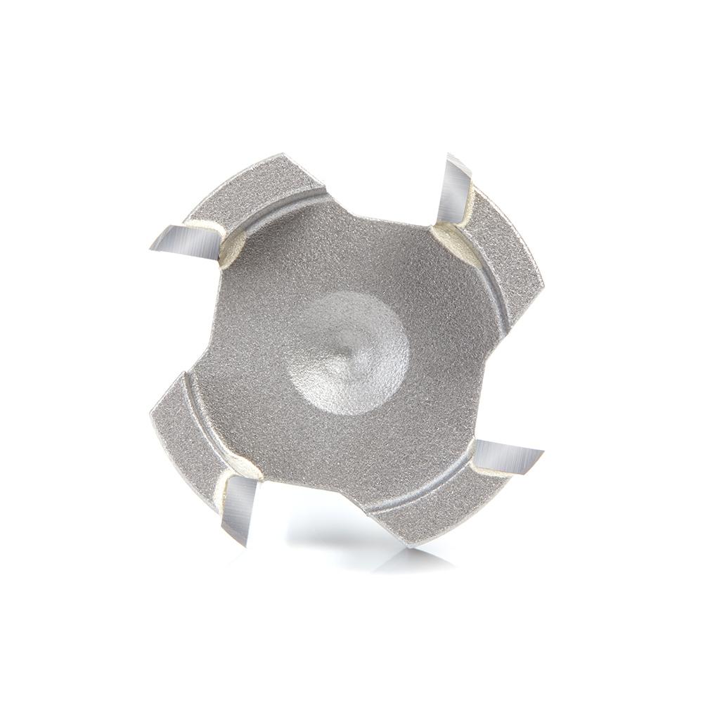 45526 Carbide Tipped Spoilboard Surfacing, Rabbeting, Flycutter, Slab Leveler, Surface Planer & Flattening 1-1/2 Dia x 1/2 x 1/2 Inch Shank Router Bit