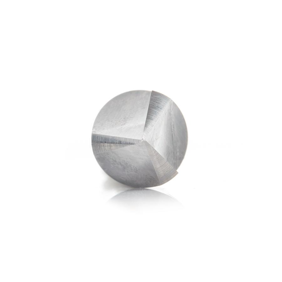 45629 Solid Carbide V-Groove 60 Deg x 1/2 Dia x 7/16 x 1/2 Inch Shank