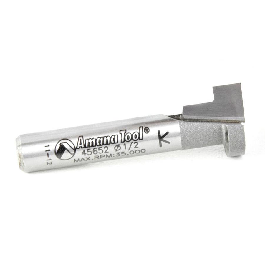 45652 Carbide Tipped Keyhole 1/2 Dia x 3/8 x 1/4 Inch Shank