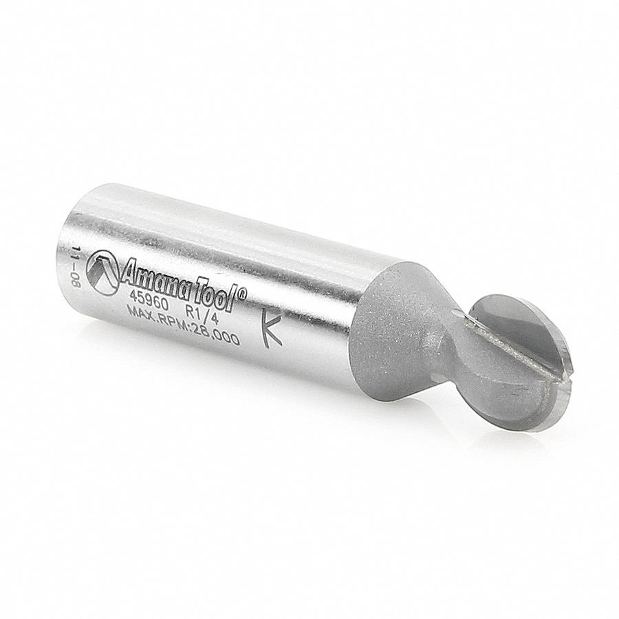 45960 Carbide Tipped Ball End 1/4 Radius x 7/16 Dia x 1/2 x 1/2 Inch Shank