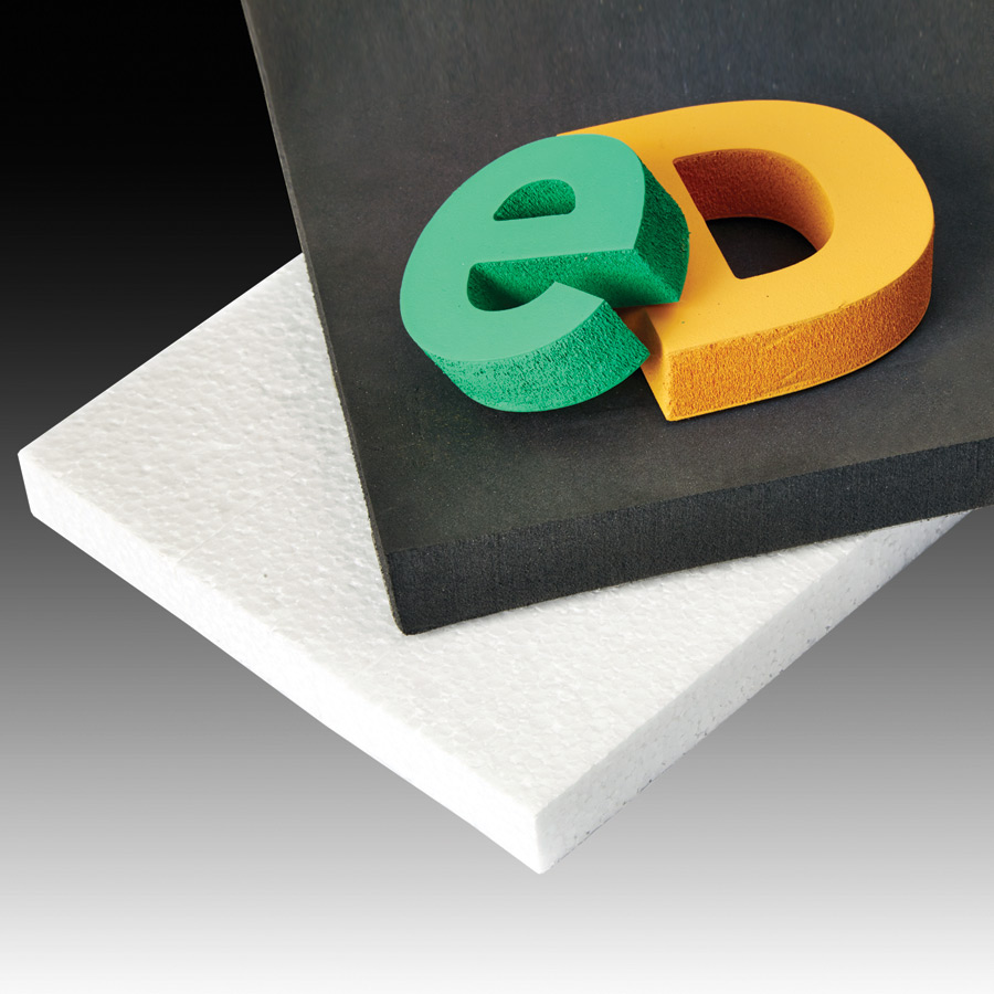 46277 Solid Carbide CNC Foam Cutting Up-Cut Square End Spiral 3/8 Dia x 4 x 3/8 Shank x 6 Inch Long Router Bit