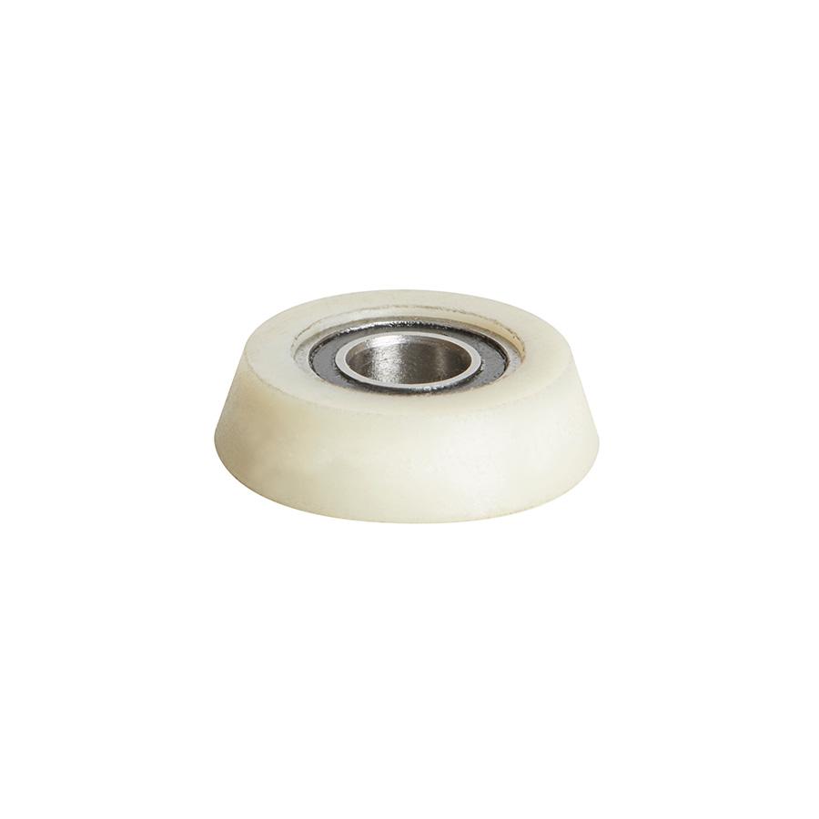 Amana Tool 47767 Ultra-Glide High Performance Ball Bearing 27//32 Overall D x 1//4 Inner D x 1//2 R x 1//2 Taper