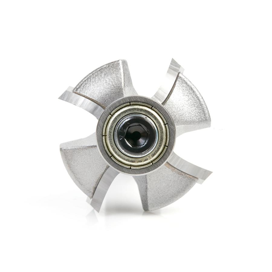 49543 Carbide Tipped 4 Flute Corner Rounding/Beading 3/8 Radius x 1-3/8 Dia x 5/8 x 1/2 Inch Shank