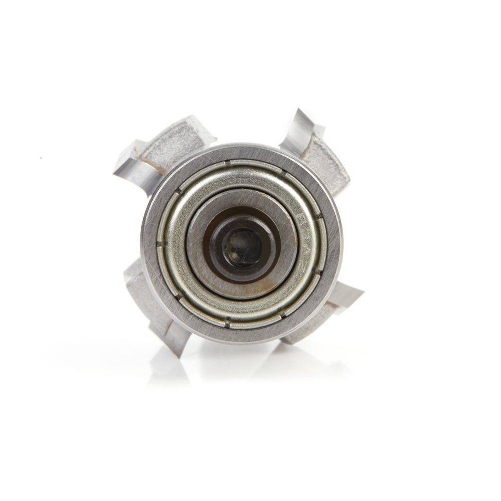 49544 Carbide Tipped 4 Flute Corner Rounding/Beading 1/8 Radius x 7/8 Dia x 7/16 x 1/4 Inch Shank