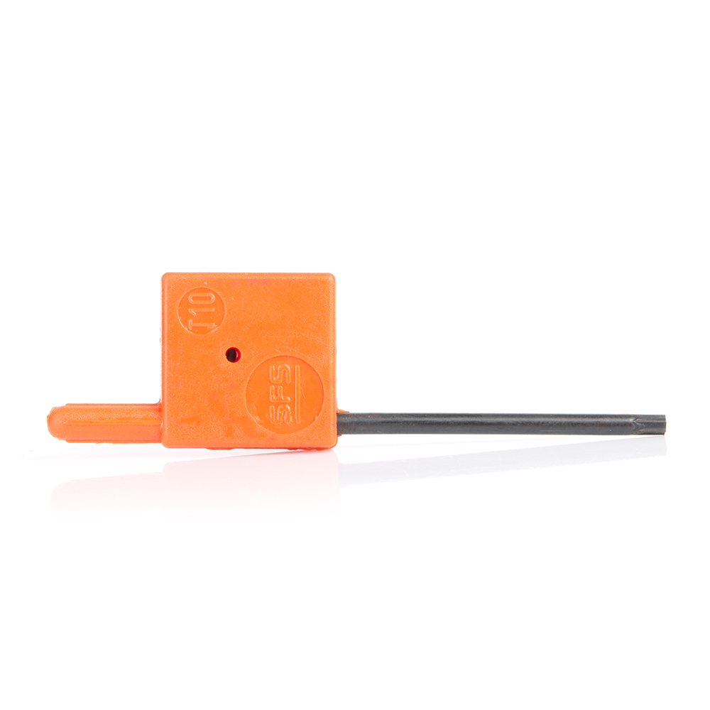 5018 Torx Key T-Handle Use with Key Size T-10 Use with Screw Size 67117