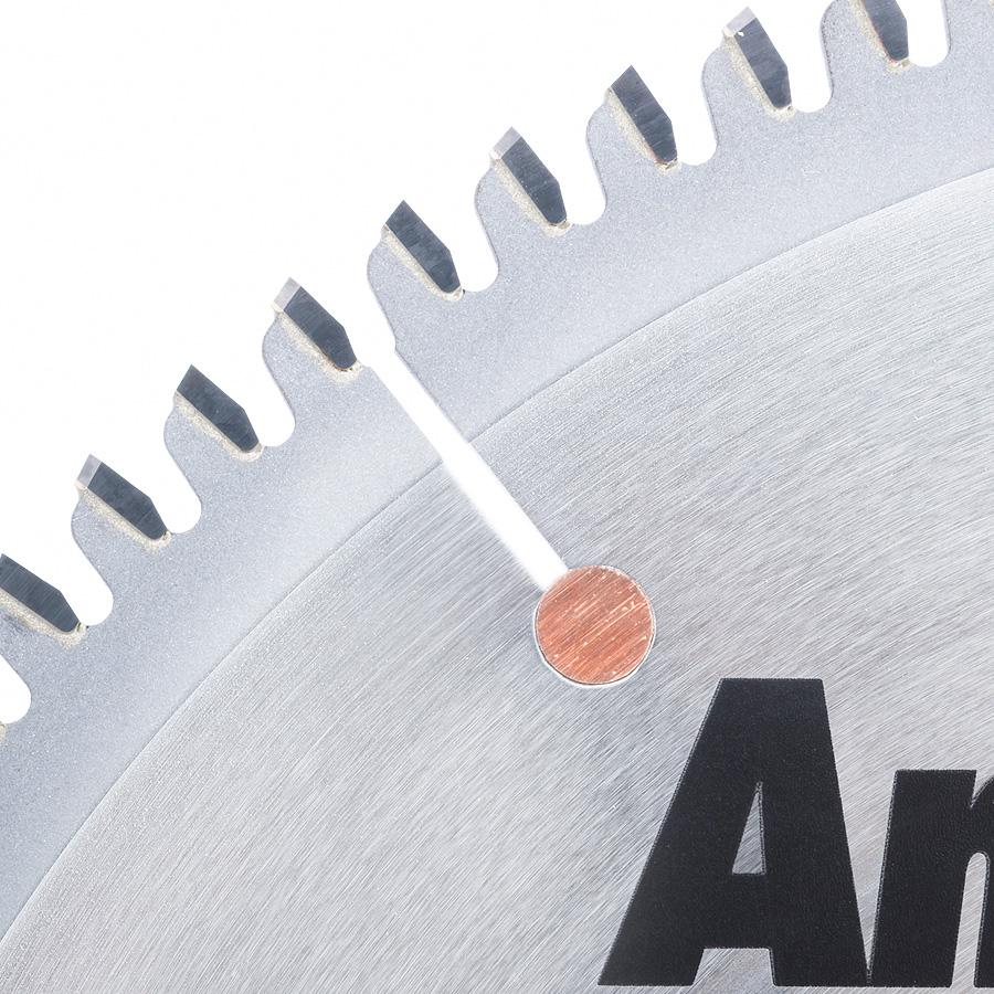 510101 Carbide Tipped Aluminum and Non-Ferrous Metals 10 Inch Dia x 100T TCG, -6 Deg, 5/8 Bore