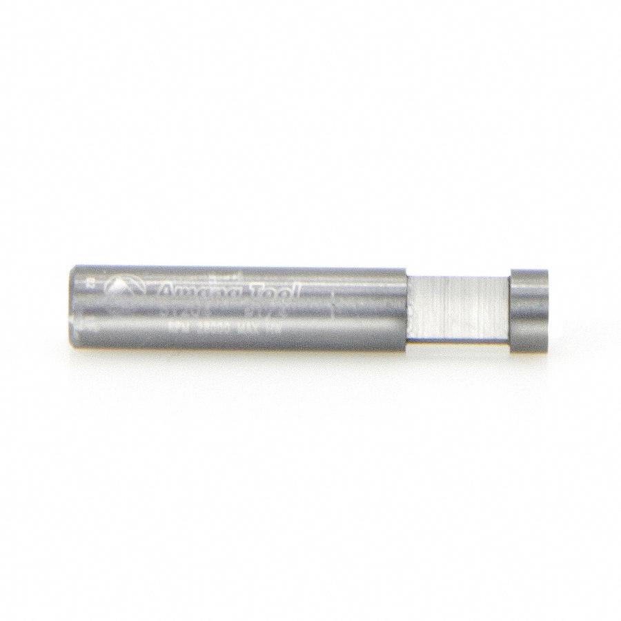51204 Solid Carbide Short/Flat Pilot for Dado Clean Out & Dado Cleaning Flush Trim 1/4 Dia x 1/4 x 1/4 Inch Shank x 1-Flute
