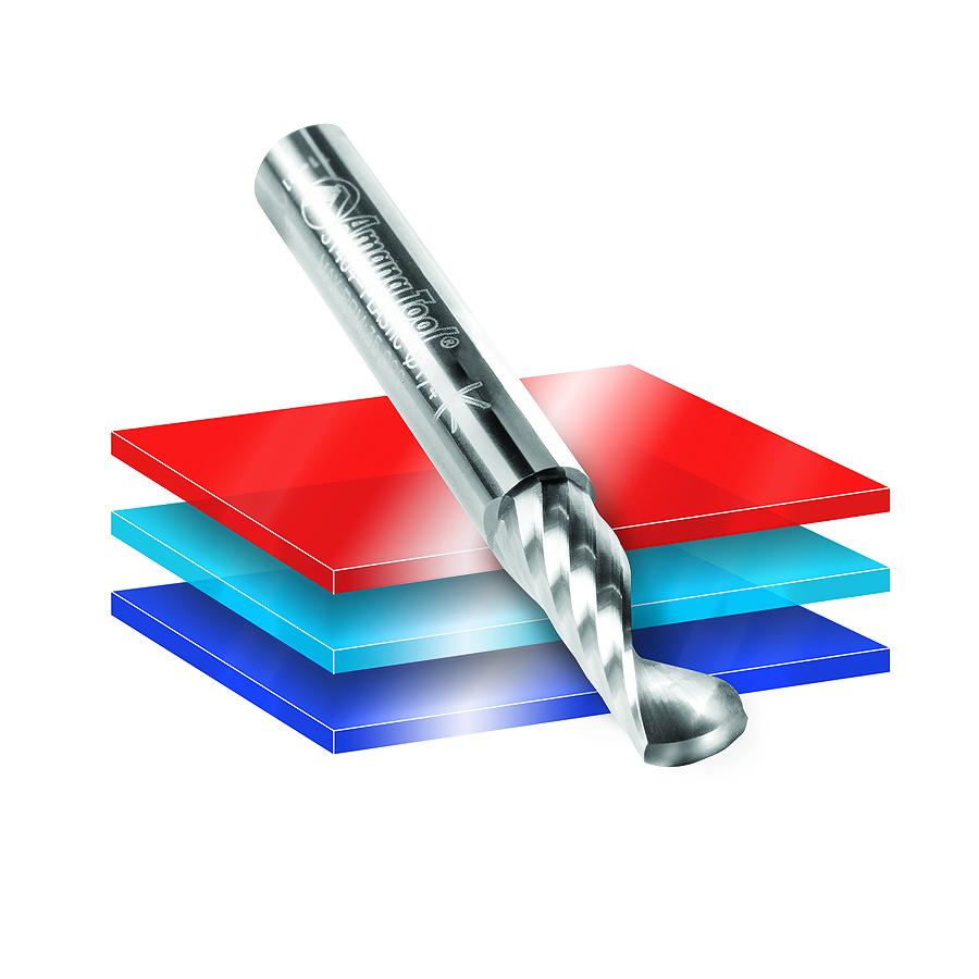 51504 Solid Carbide CNC Spiral