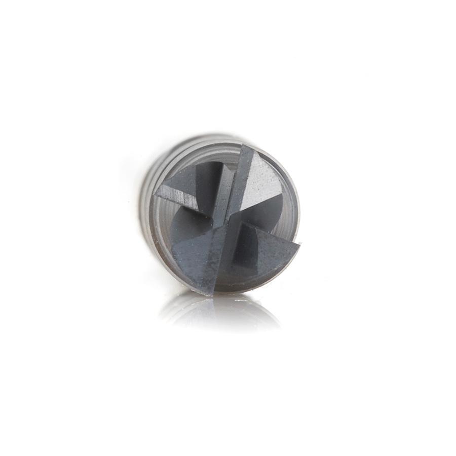 Amana Tool 51609 CNC Spiral Multi-Helix Corner Radius Bottom 1//2 Dia x 1 x 1//2 Shank x 0 Amana Tool Corp.