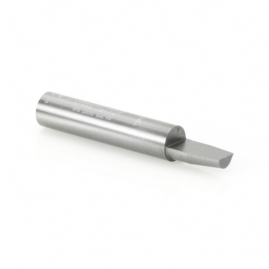 51706 Carbide Tipped Combination Flush & Bevel Trimmer 1/4 Dia x 3/8 x 1/4 Inch Shank Single-Flute