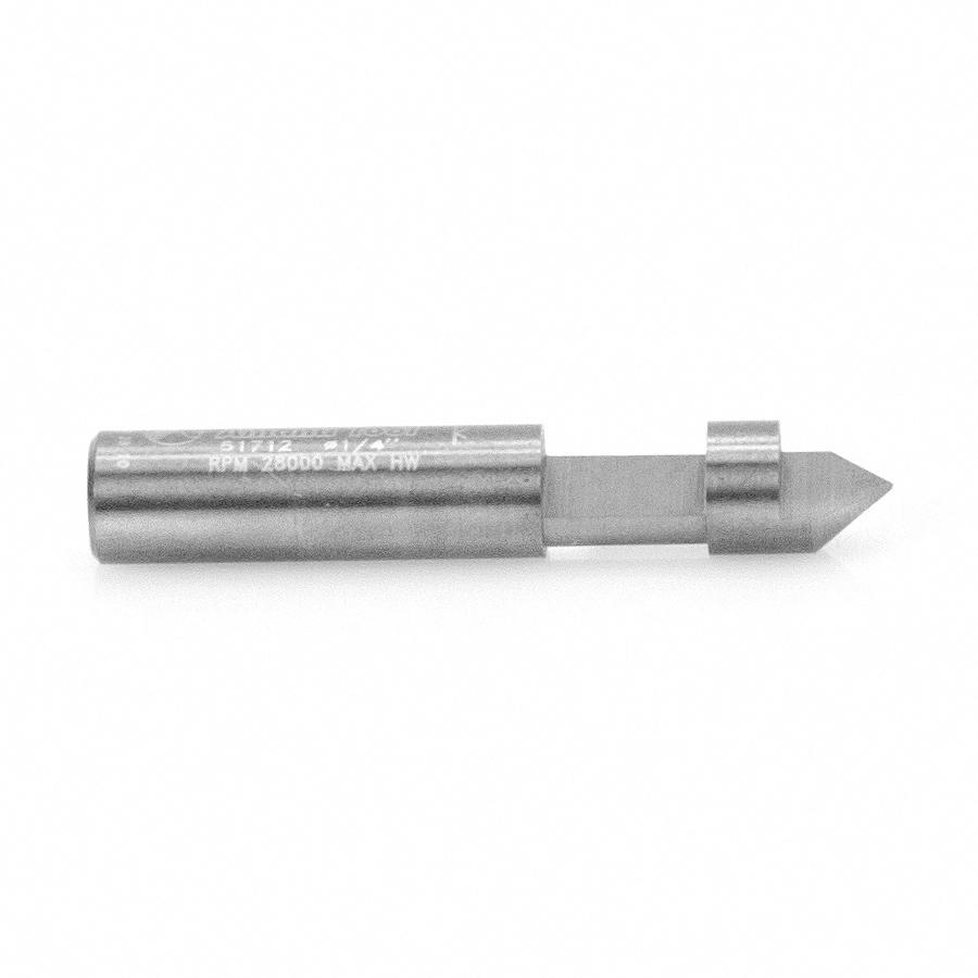 51712 Solid Carbide Hole and Flush Cut 1/4 Dia x 1/4 x 1/4 Inch Shank