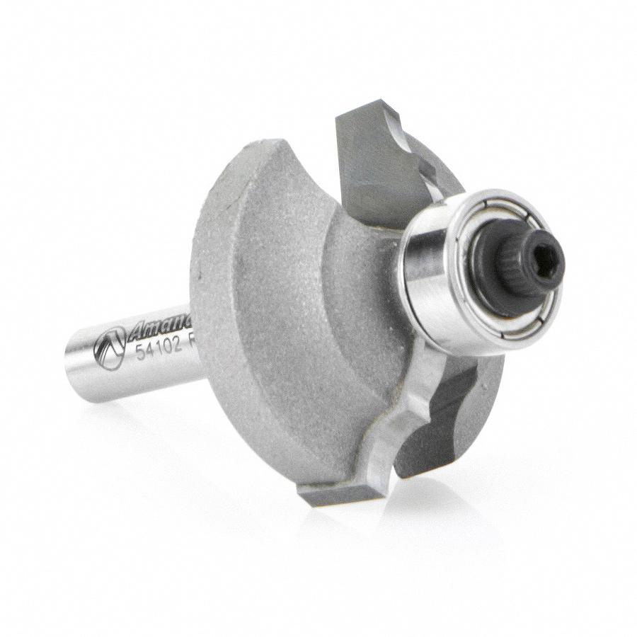 54102 Carbide Tipped Classical Bead & Cove 13/64 x 5/16 Radius x 1-1/4 Dia x 1/2 x 1/4 Inch Shank