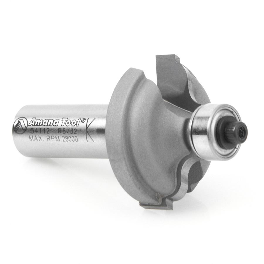 54112 Carbide Tipped Ogee Fillet 5/32 Radius x 1-3/8 Dia x 1/2 x 1/2 Inch Shank