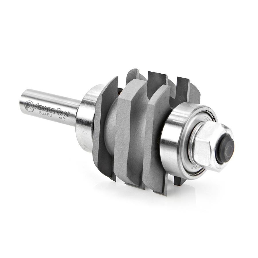 55460 Carbide Tipped One Piece Concave Stile & Rail 2 Dia x 1-9/32 x 7/32 Radius x 1/2 Inch Shank