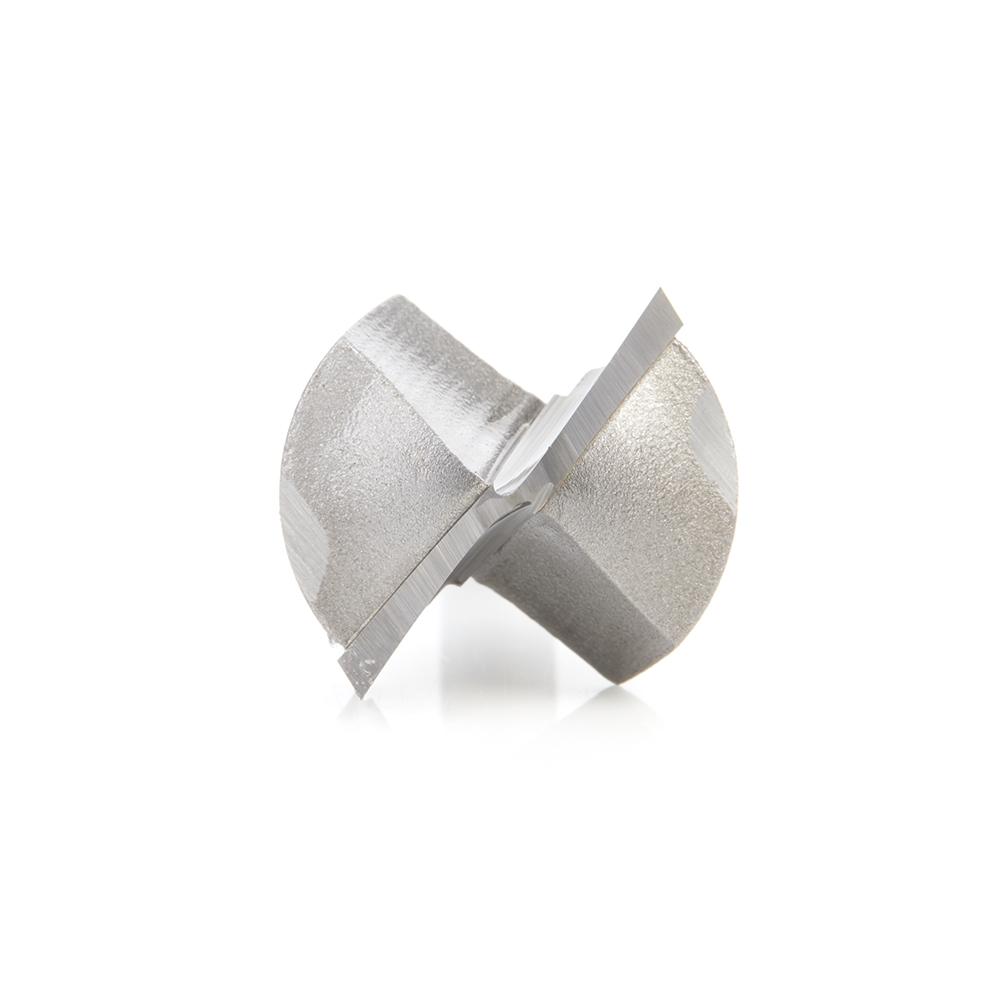 56144 Carbide Tipped Point Cutting Roundover 1/2 Radius x 1 Dia x 3/4 x 1/4 Shank Router Bit