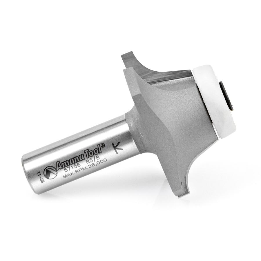 57156 Carbide Tipped Undermount Bowl Solid Surface 1-25/32 Dia x 11/16 x 17 Deg x 1/2 Inch Shank