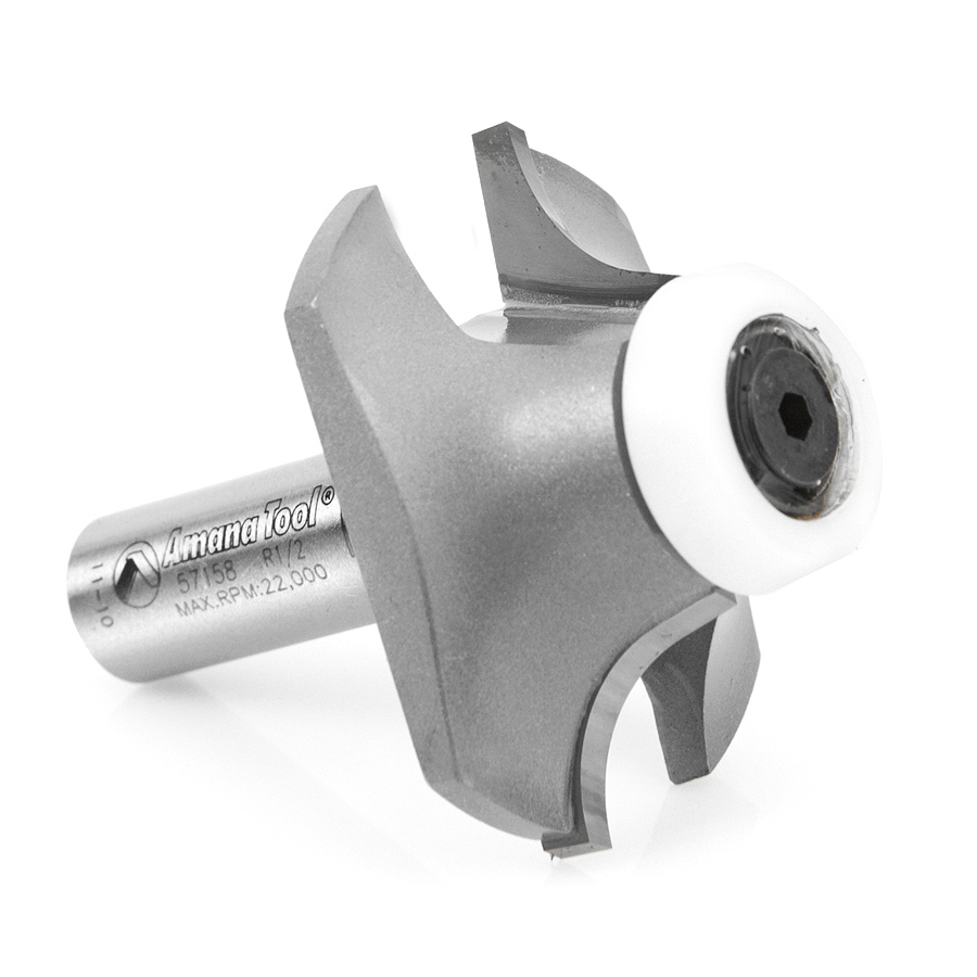 57158 Carbide Tipped Undermount Bowl Solid Surface 2 Dia x 11/16 x 14 Deg x 1/2 Inch Shank
