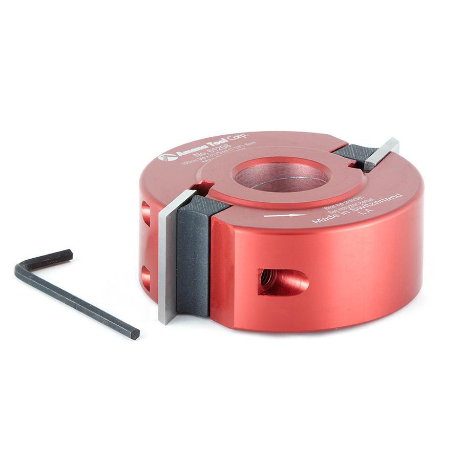 61208 Profile-Pro Aluminum Cutterhead 100mm Dia x 40mm x 1-1/4 Bore