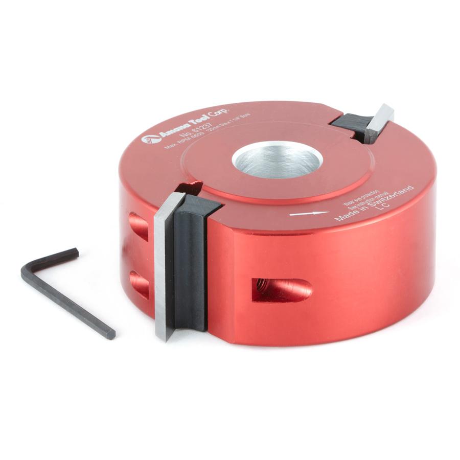 61237 Profile-Pro Aluminum Cutterhead 120mm Dia x 40mm x 50mm Bore