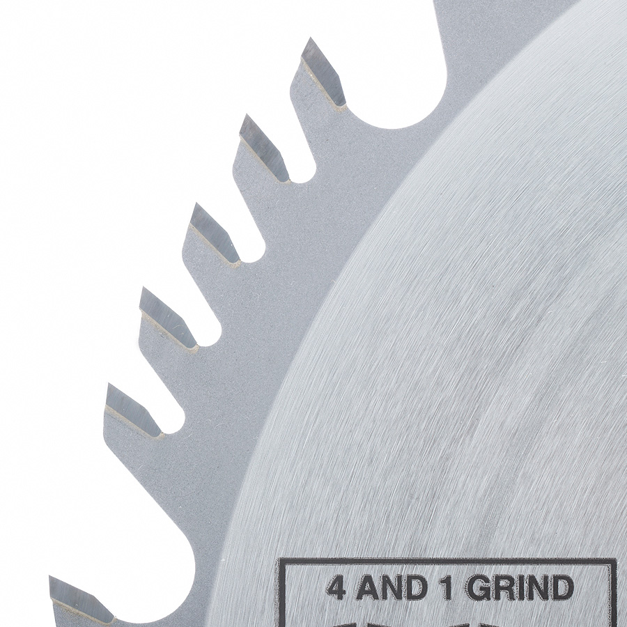 612604 Carbide Tipped Combination Ripping and Crosscut 12 Inch Dia x 60T 4+1, 15 Deg, 1 Inch Bore