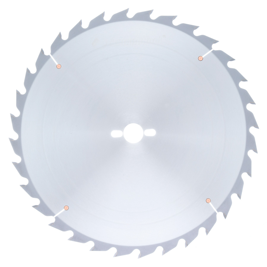 616320-30 Carbide Tipped Ripping Standard 16 Inch Dia x 32T FT, 18 Deg, 30mm Bore