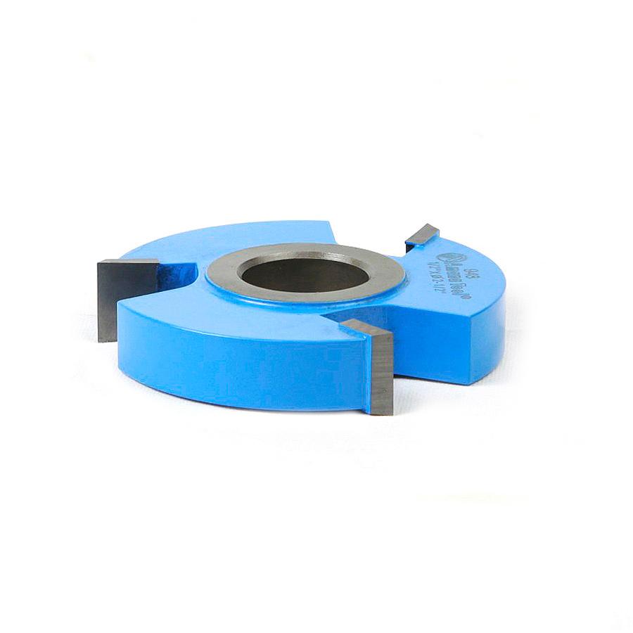948 Carbide Tipped 3-Wing Straight Edge 2-1/2 Dia x 1/2 x 1/2 & 3/4 Bore