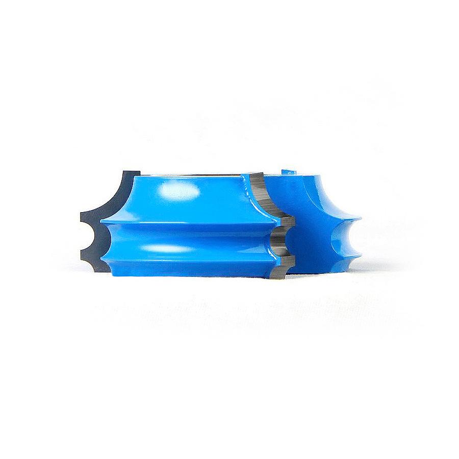952 Carbide Tipped 3-Wing Corner Round & Bead 3/8 Radius x 2-5/8 Dia x 15/16 x 1/2 & 3/4 Bore